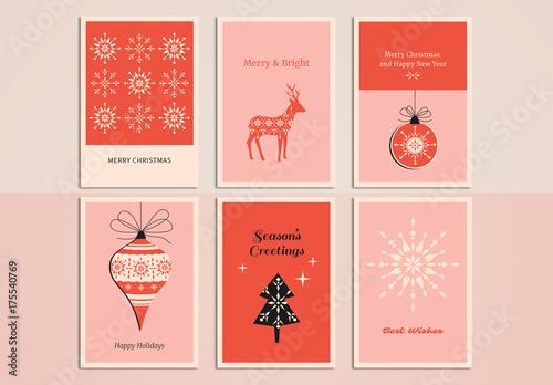 christmas greeting card set 10 kaufen sie diese vorlage und finden sie hnliche vorlagen auf. Black Bedroom Furniture Sets. Home Design Ideas