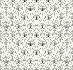 NaklejkaVector Floral Art Nouveau Seamless Pattern