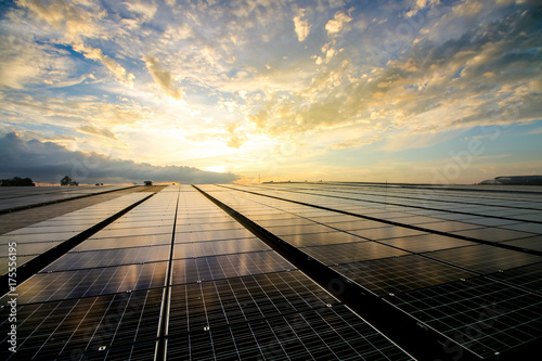 Tablou Canvas solar panels
