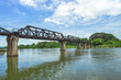 The Bridge of the River Kwai in Kanchanaburi