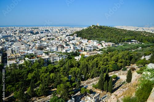 Plakat Widok Ateny