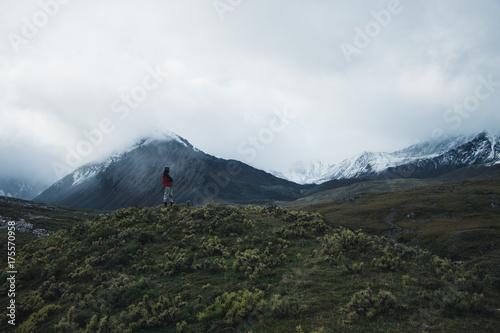 Plakat Wycieczka w góry Syberii
