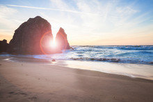 Beautiful Rocky Atlantic Ocean Coastline