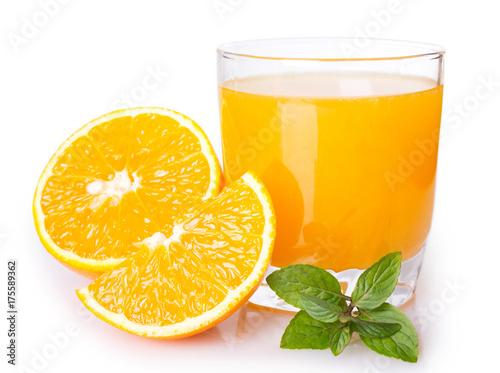 Foto op Canvas Sap Fresh orange juice