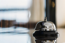 Service Bell On Reception In H...