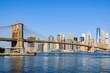 Lower Manhattan Skyline from Dumbo, NYC, USA