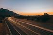 Couché de soleil - Rocher de Roquebrune