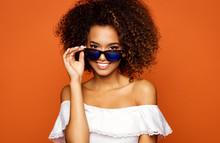Beautiful African American Fem...