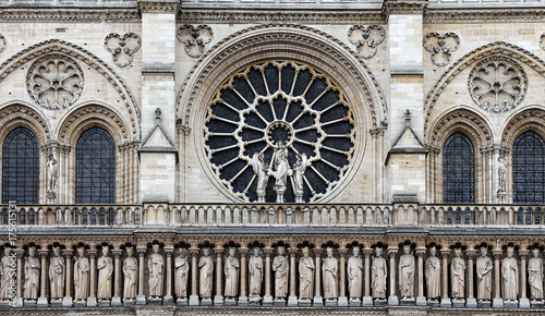 Poster de jardin Monument Notre Dame de Paris