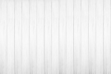 White Wood Texture Background.
