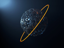 Artificial Metal Planet