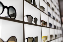 Display Full Of Sunglasses