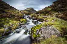 The Outflow From Loch Skeen On...