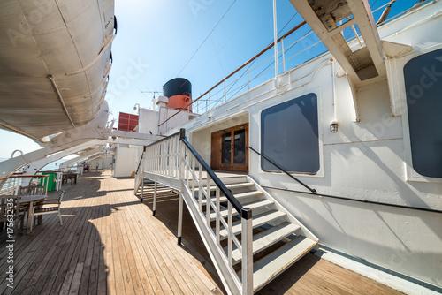 Plakat Pokład statku wycieczkowego