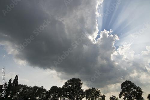 Valokuva  Dramatically clouded sky