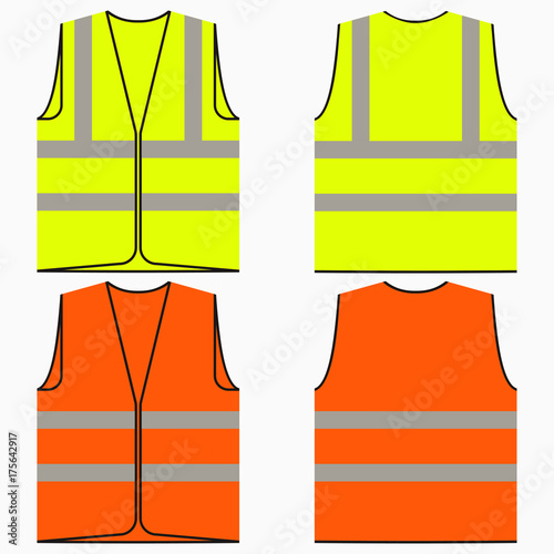 Fotomural Safety vest