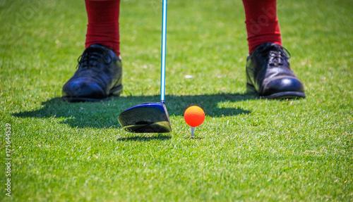 Plakat Algarve Golf - Portugalia