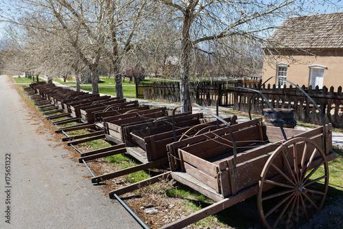 Cuadros en Lienzo United States Pioneer Era Handcarts