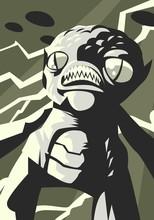 Evil Monster Creature