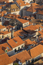 Rooftops Of The Old Town In Dubrovnik, Croatia