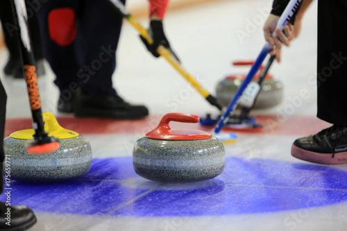 Carta da parati Curling.