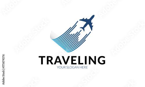 Fotografie, Obraz  Traveling Logo