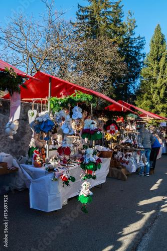Fotografía  Mercatino di Natale a Santa Maria Maggiore, Valle Vigezzo, VCO, Piemonte, Italia