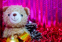 Bear Doll With Christmas And N...
