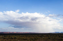 Isolated Rainstorm At The Monu...