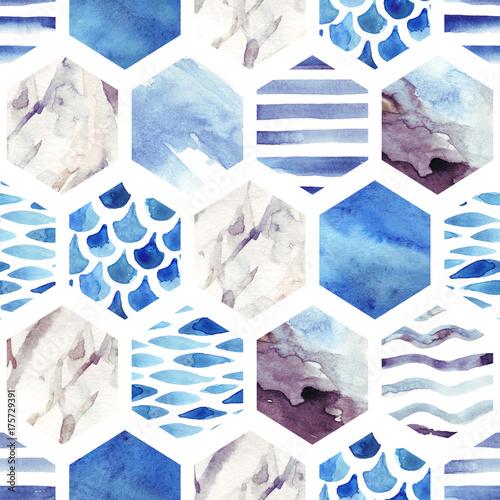 streszczenie-teksturowanej-szesciokat-ksztaltow-wzor