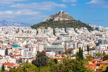 Mount Lycabettus In Athens