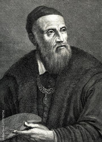 Fényképezés Titian, italian painter (from Spamers Illustrierte Weltgeschichte, 1894, 5[1], 1
