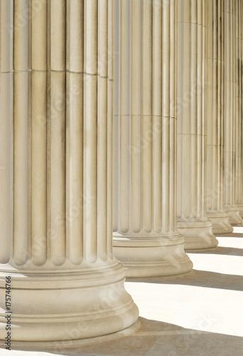 Fotografie, Obraz  Classic Columns Background