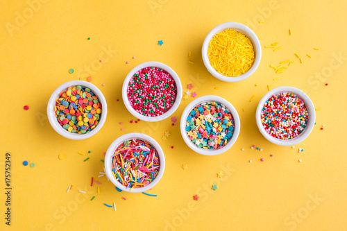 Cuadros en Lienzo A collection of sprinkles