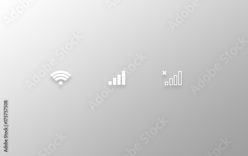 Fototapeta Communication icons obraz