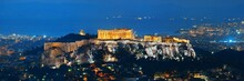 Athens Skyline With Acropolis ...
