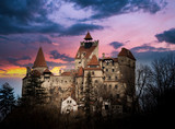 "Bran Castle, Transylvania, Romania, known as ""Dracula's Castle""."