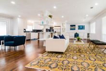 Modern Open Concept Living Area Remodel
