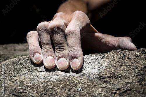 Fototapeta hand holding grip