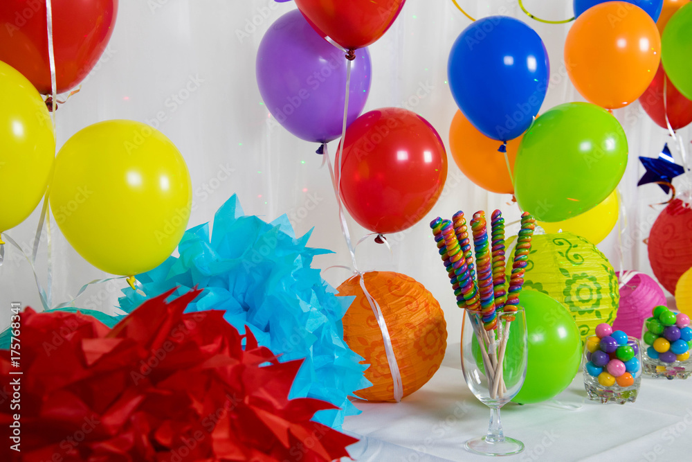 Birthday Party Decorations Foto Poster Wandbilder Bei EuroPosters
