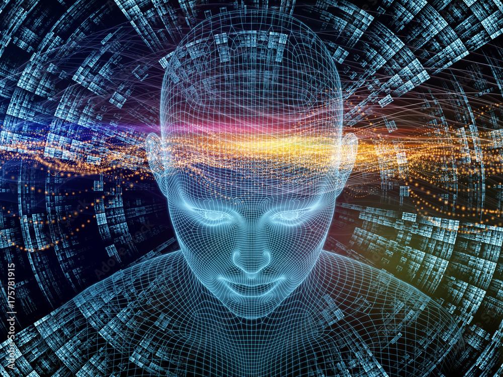 Fototapeta Computing Digital Identity