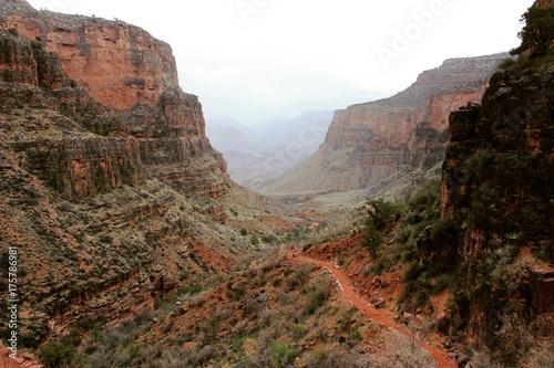 Plakat Wielki Kanion, ścieżka spacerowa