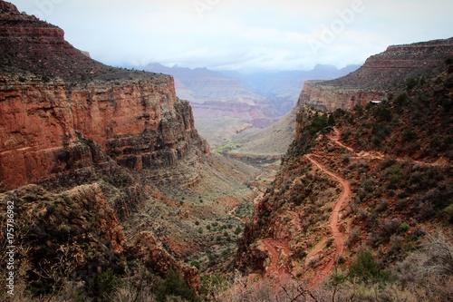 Plakat Ścieżka piesza Grand Canyon