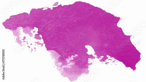 Obraz na płótnie Różowy plusk
