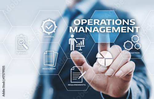 Photo Operations Management Strategy Business Internet Technology Concept