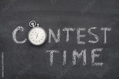 Obraz na plátně  contest time watch