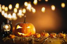 Halloween Still Life Backgroun...
