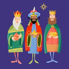 Three Biblical Kings: Caspar, ...