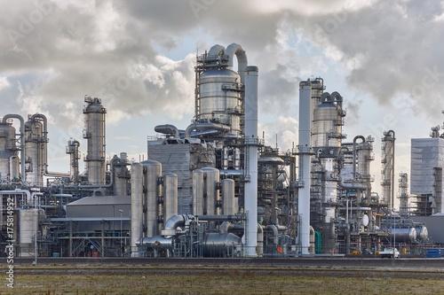 Fotografia  Smoking chemical plant