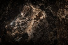 Underground Cave Texture Closeup Photo